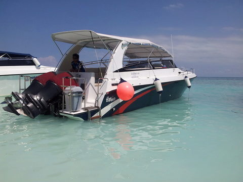 Speedboat Private charter